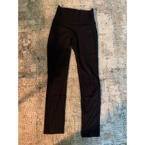 Black High Waisted Lululemon pants